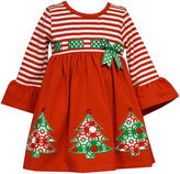 Bonnie Jean Long Sleeve Party Dress - Toddler Girls