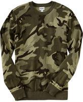 Camo Men's Crew-Neck Sweaters