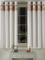 By Caprice Capri Lined Eyelet Curtains