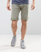 Replay Colored Regular Straight Fit Denim Short