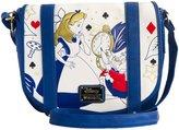 Loungefly womens Alice In Wonderland Time Is Ticking Cross Body Purse Standard