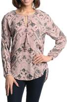 BB Dakota Cleta Pink Tribal Top