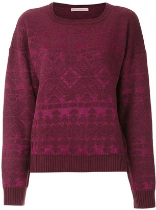 Cecilia Prado Geometric Pattern Knitted Jumper