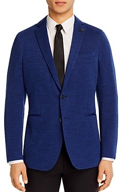 John Varvatos Varick Jersey Tonal Solid Slim Fit Sport Coat
