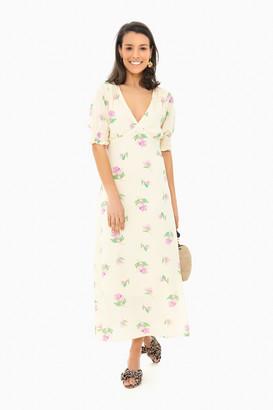 Lush Floral Ellen Midi Dress