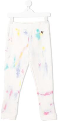 Stella Mccartney Kids Love abstract print track pants