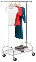 Honey-Can-Do Heavy Duty Garment Rack with Bottom Shelf