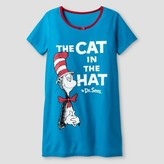 Dr. Seuss Girls' Cat in the Hat Nightgown - Multi-colored