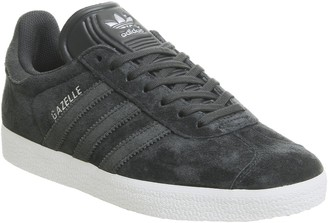 adidas Gazelle Trainers Night Grey Carbon Silver Exclusive