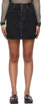 Thumbnail for your product : Acne Studios Black Denim Miniskirt