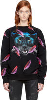 Marcelo Burlon County of Milan Black Jepek Sweatshirt
