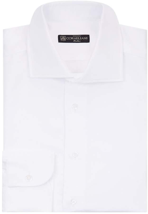 Corneliani Herringbone Cotton Shirt