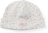 Ralph Lauren Floral-Print Pima Baby Hat