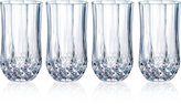 Longchamp Cristal D'Arques Set of 4 Highball Glasses