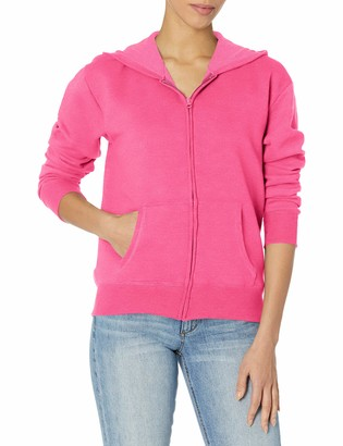 Hanes Women's Fleece Full-Zip Hood Jacket