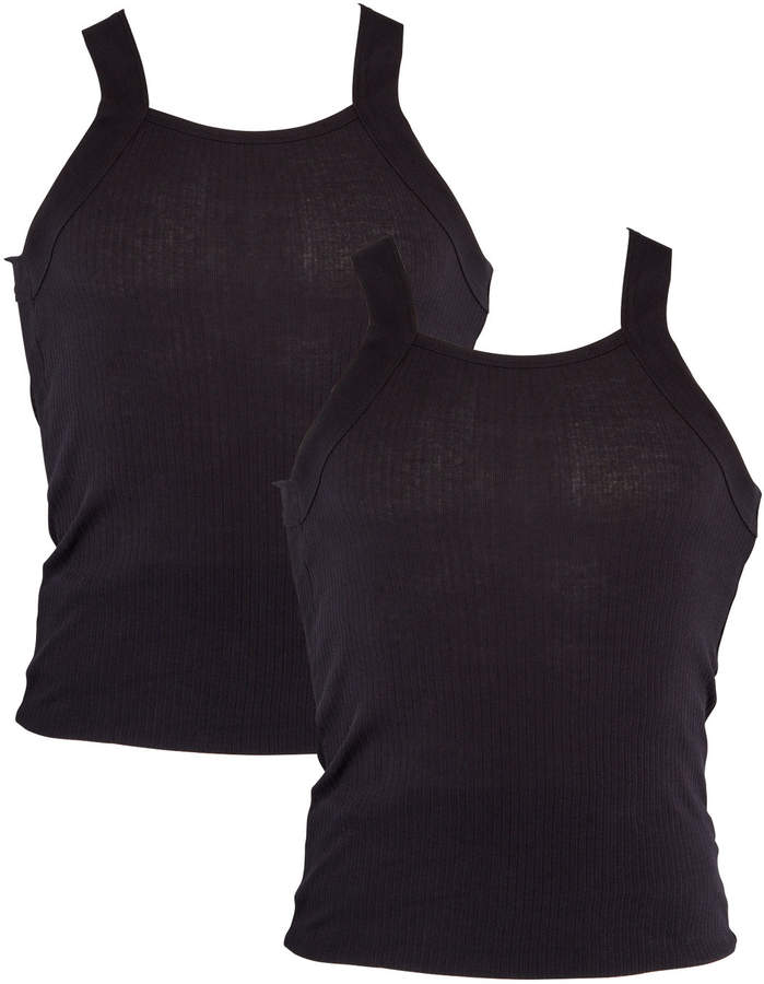 2xist 2-Pack Square-Neck Tank Top