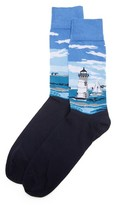 Corgi Lighthouse Socks