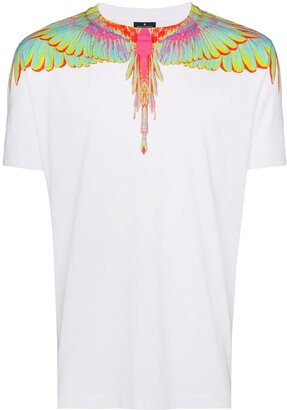 Marcelo Burlon County of Milan Neon wings printed T-shirt