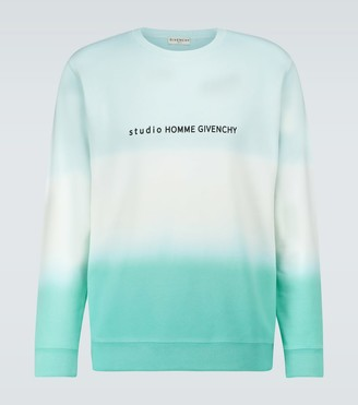 Givenchy Studio Homme faded effect sweatshirt