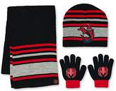 Spiderman Marvel Boys Winter 3pc Set Hat Gloves and Scarf