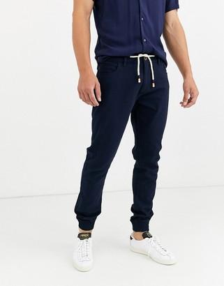 Threadbare utility slim cuffed cargo trouser
