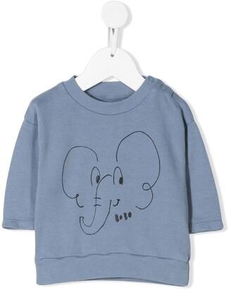 Bobo Choses Elephant print T-shirt