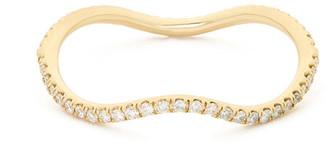 Bondeye Jewelry Wave Diamond Eternity Band