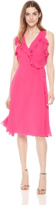 Trina Turk Women's Naples Ruffle Wrap Dress