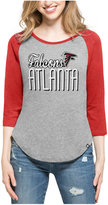 '47 Women's Atlanta Falcons Club Block Raglan T-Shirt