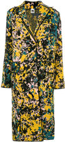 M Missoni ink splatter print coat - women - Polyamide/Viscose/Wool - S