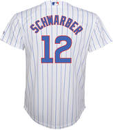 Majestic MajesticKyle Schwarber Chicago Cubs Replica Jersey, Big Boys (8-20)