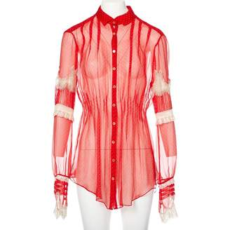 Meadham Kirchhoff Red Top for Women