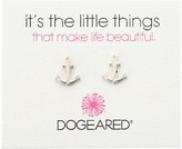 Dogeared It's The Little Things Anchor Studs Earring