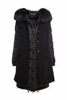 Mr & Mrs Italy Black Double Coat