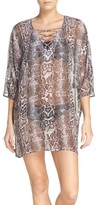 Tommy Bahama Women's Snake Charmer Cover-Up Tunic