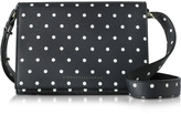 Victoria Beckham Printed Pois Navy and Black Mini Shoulder Bag