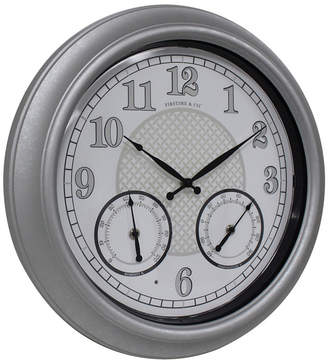 FirsTime & Co. Radiant Led Outdoor Clock