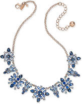 Kate Spade 14k Rose Gold-Plated Crystal Collar Necklace