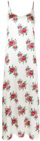 Thumbnail for your product : R 13 Floral-Print Silk Slip Dress