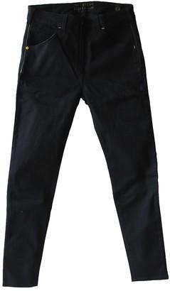 Tri Colour Federation Organic Cotton Black High Waisted Slim Fit Jean