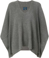 Polo Ralph Lauren v-neck cape jumper