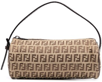 Fendi Pre-Owned Zucchino-print barrel bag
