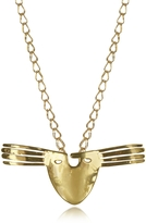 Aurelie Bidermann 18K gold-plated Brass Melina Long Necklace