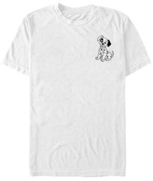 Fifth Sun Men's Patch Line Short Sleeve T-Shirt