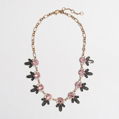 J.Crew Factory Factory multifaceted petal necklace