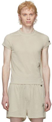 Rick Owens Off-White Champion Edition Mesh Small Level T-Shirt