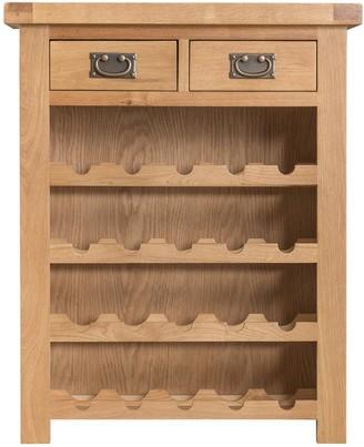 K Interiors Alana Ready Assembled Wine Cabinet