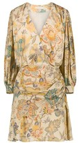 Vanessa Bruno Viscose printed Naureen wrap dress