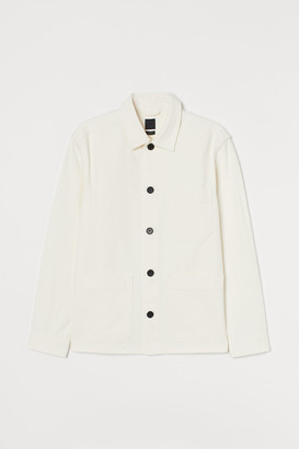 H&M Cotton twill shacket