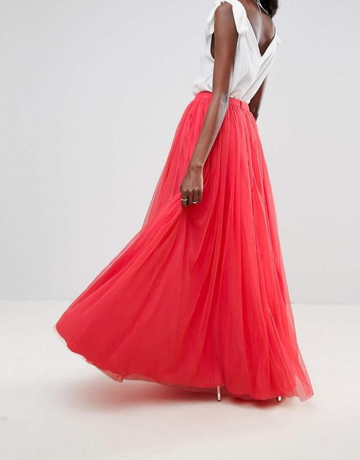 Asos Tulle Maxi Prom Skirt